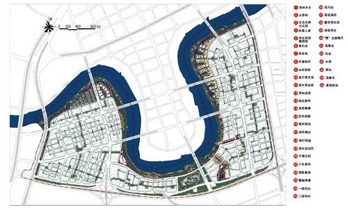 天津南部新城公共开放空间景观设计