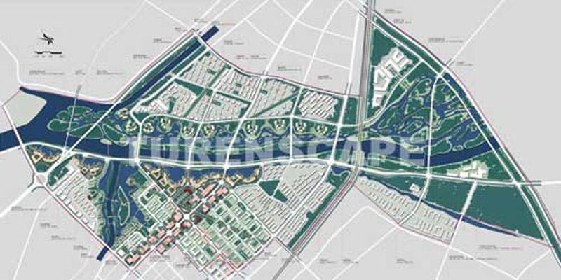 北京通州运河城市段景观规划及城市设计图片