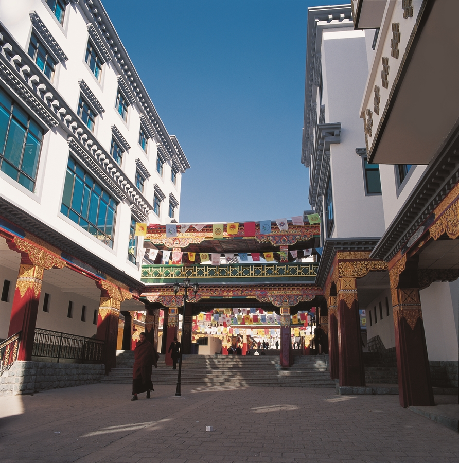 西藏昌都中路步行街