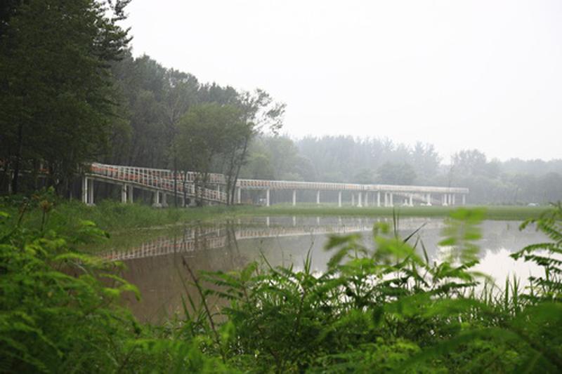 秦皇岛森林公园占地233公顷