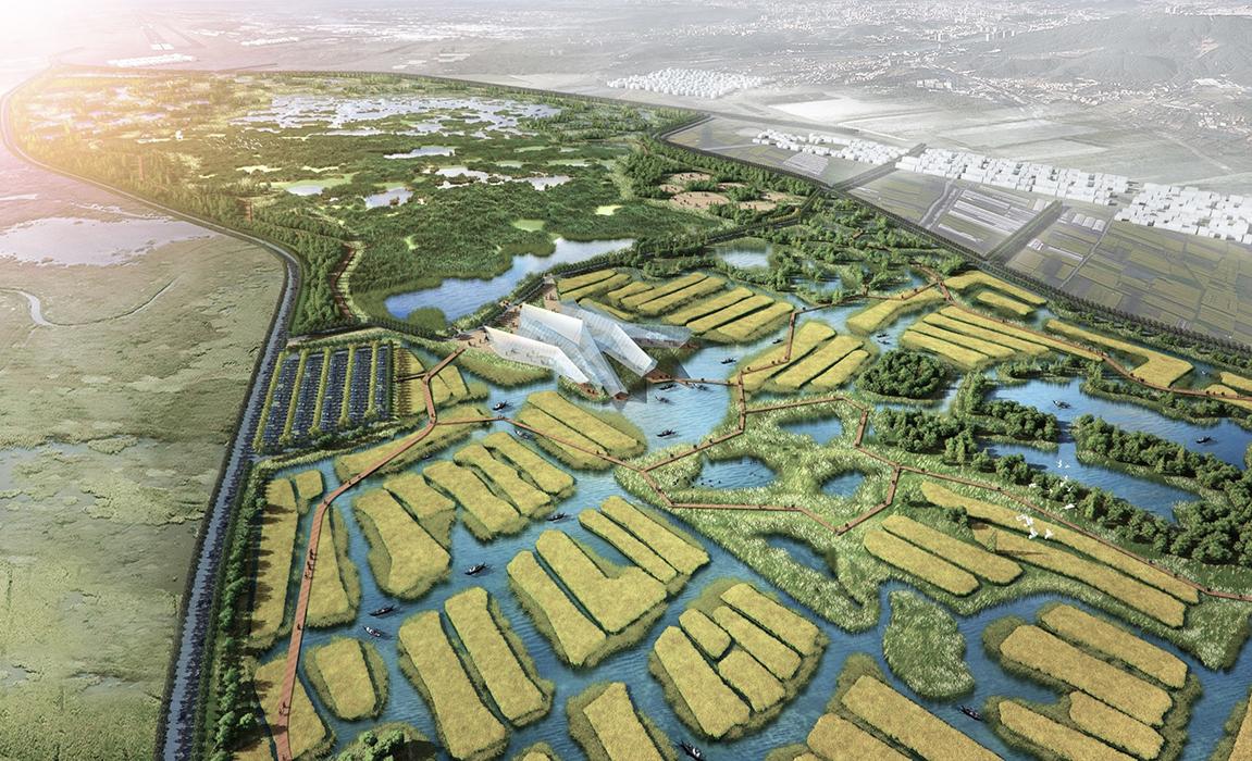包括国家农业公园系统的构建,退耕还湿,土地利用的变更,农村发展,农民图片
